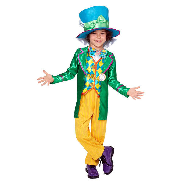Mad Hatter Boys Deluxe Costume (large Polybag), Child