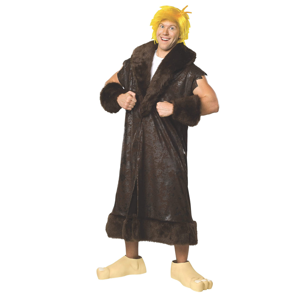 Barney Rubble Deluxe Costume, Adult