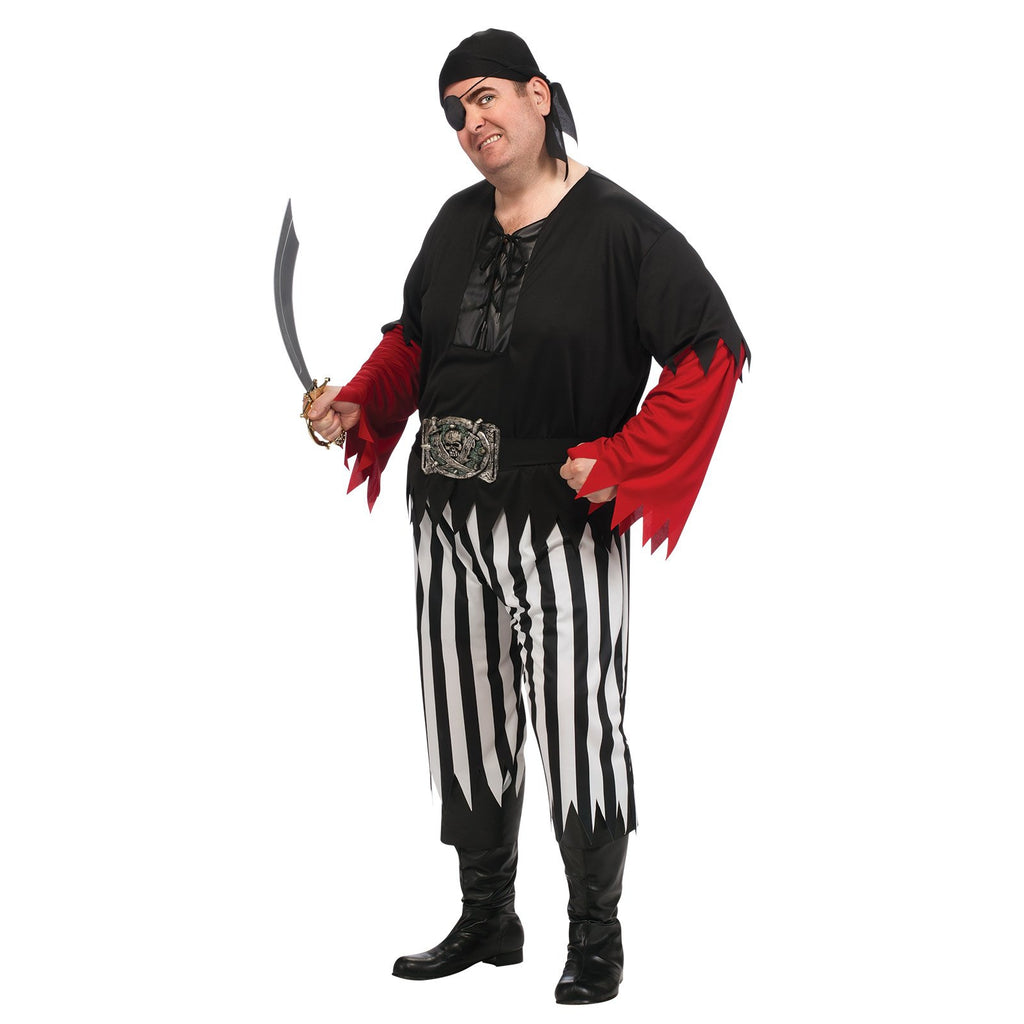 Pirate Guy Costume, Adult