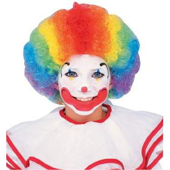 Clown Multi Colour Wig Adult