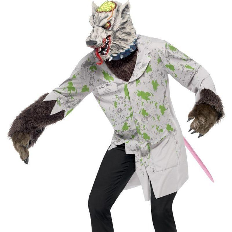 Experiment Lab Rat Costume - Large Mens White