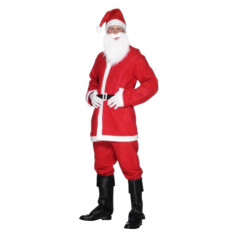 Santa Suit Costume Adult Red