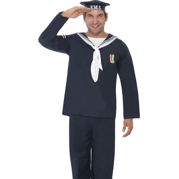 Naval Seaman - Medium Mens Blue