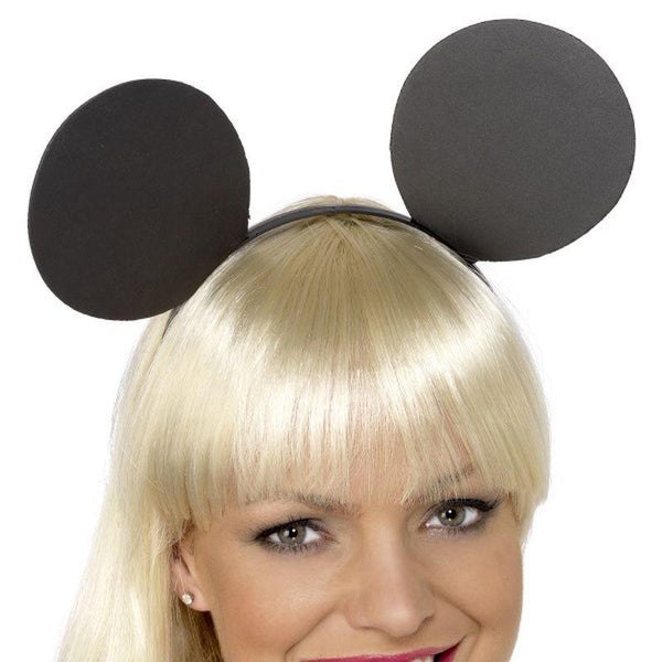 Mouse Ears on Headband - One Size