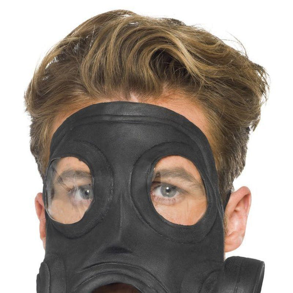 Gas Mask - One Size Mens Black
