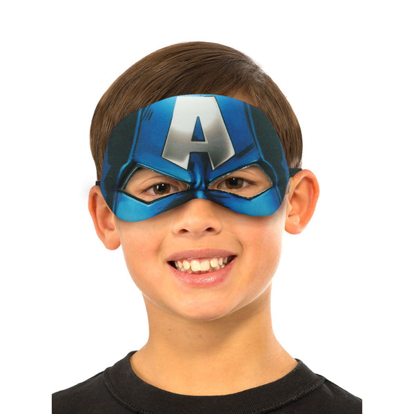 Captain America Plush Eyemask Child