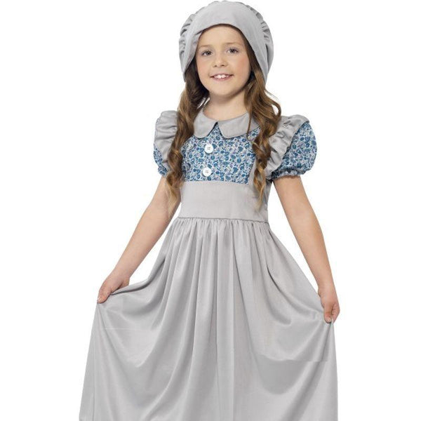 Victorian School Girl Costume - Small Age 4-6