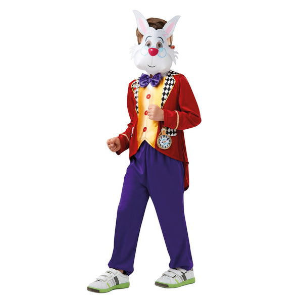 White Rabbit Alice In Wonderland Costume-size 9-10
