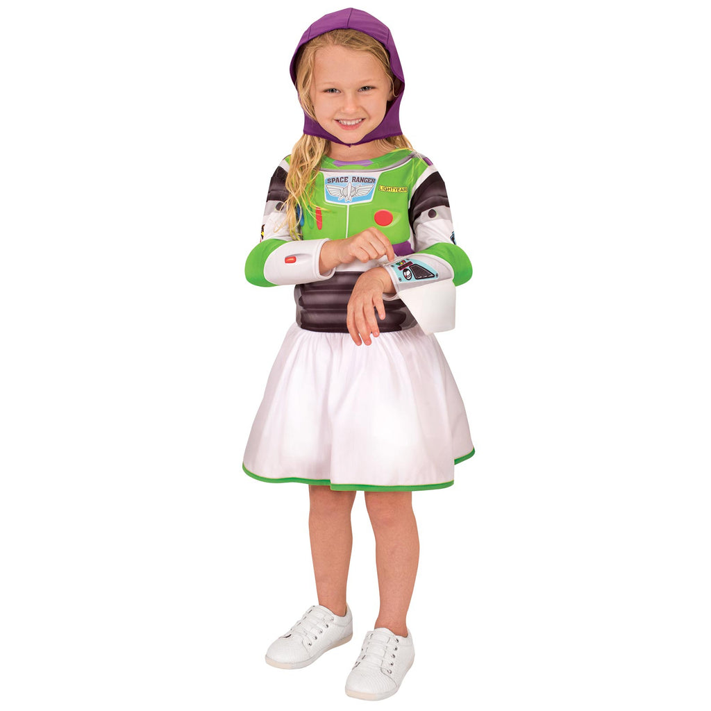 Buzz Girl Toy Story 4 Classic Costume, Child