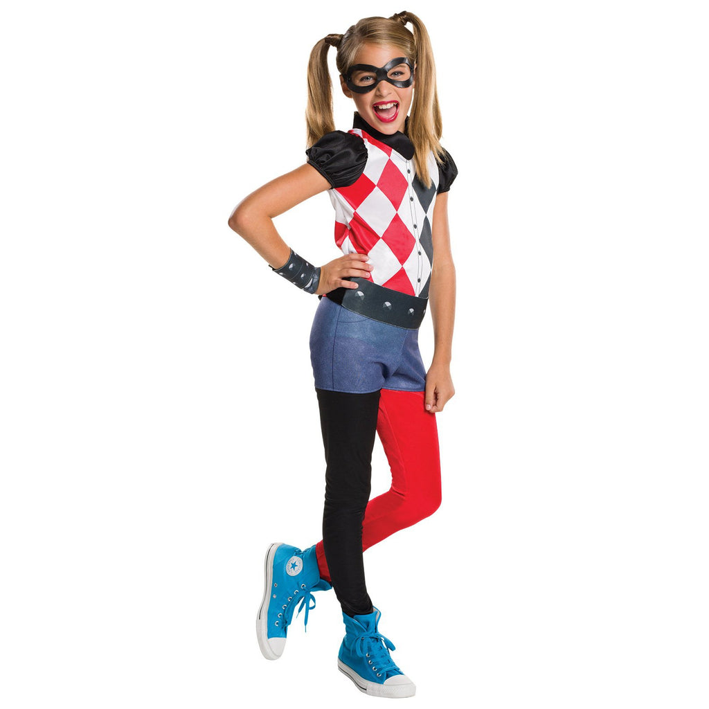 Harley Quinn Dcshg Classic Costume, Child