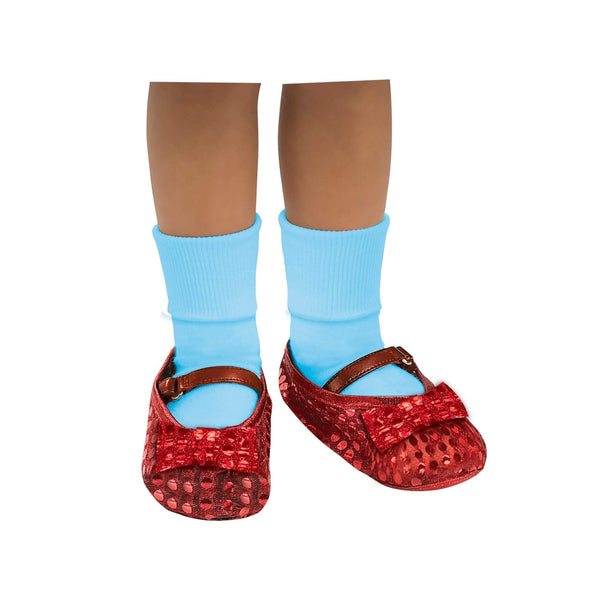 Dorothy Sequin Shoe Covers Child