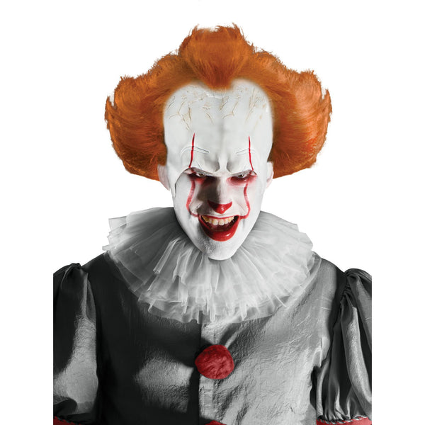 Pennywise Wig & Attached Headpiece Adult