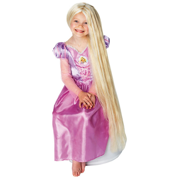 Rapunzel Glow In The Dark Wig Child