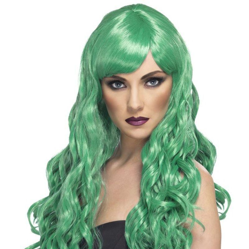 Desire Wig - One Size Womens Green
