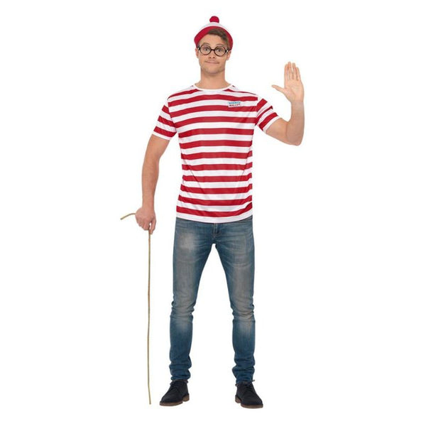 Where's Wally? Kit Adult Red / White