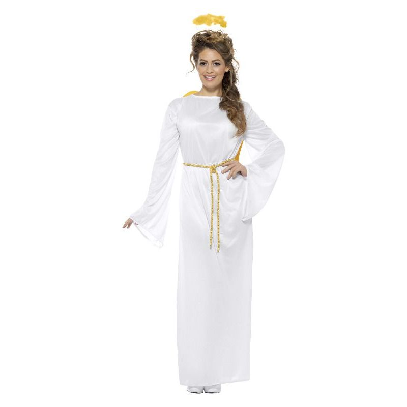 Angel Gabriel Costume Unisex Adult White