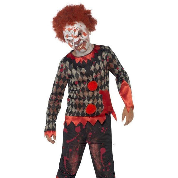 Deluxe Zombie Clown Costume - Small Age 4-6