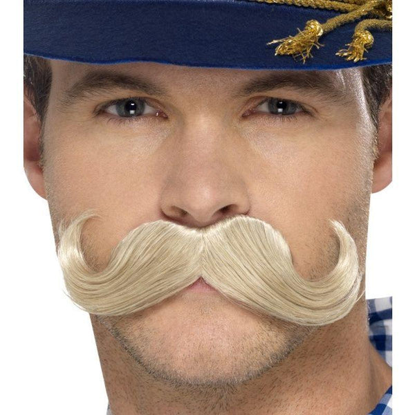 Authentic Bavarian Oktoberfest Moustache - One Size