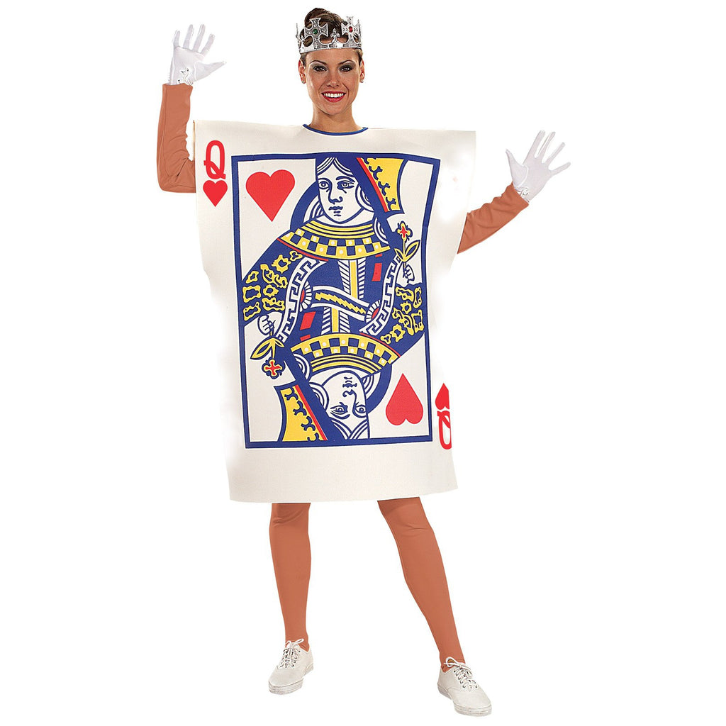 Queen Of Hearts Playing Card Costume, Adult