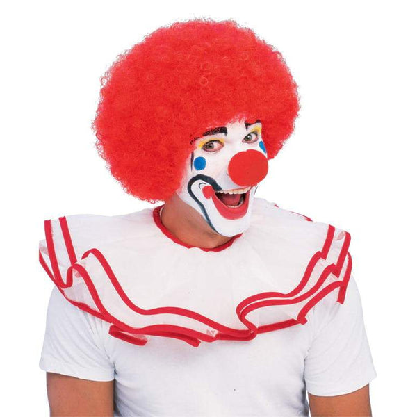 Afro Red Wig Adult