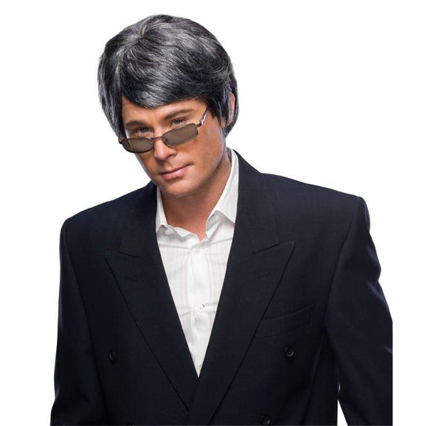 Grey Men's Wig - Adult
