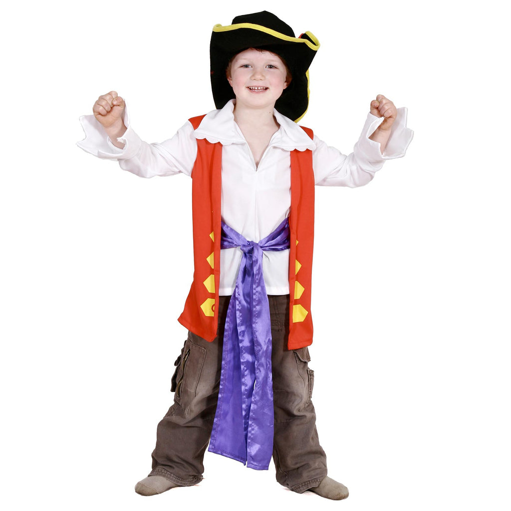 Captain Feathersword Dress Up Set, Child