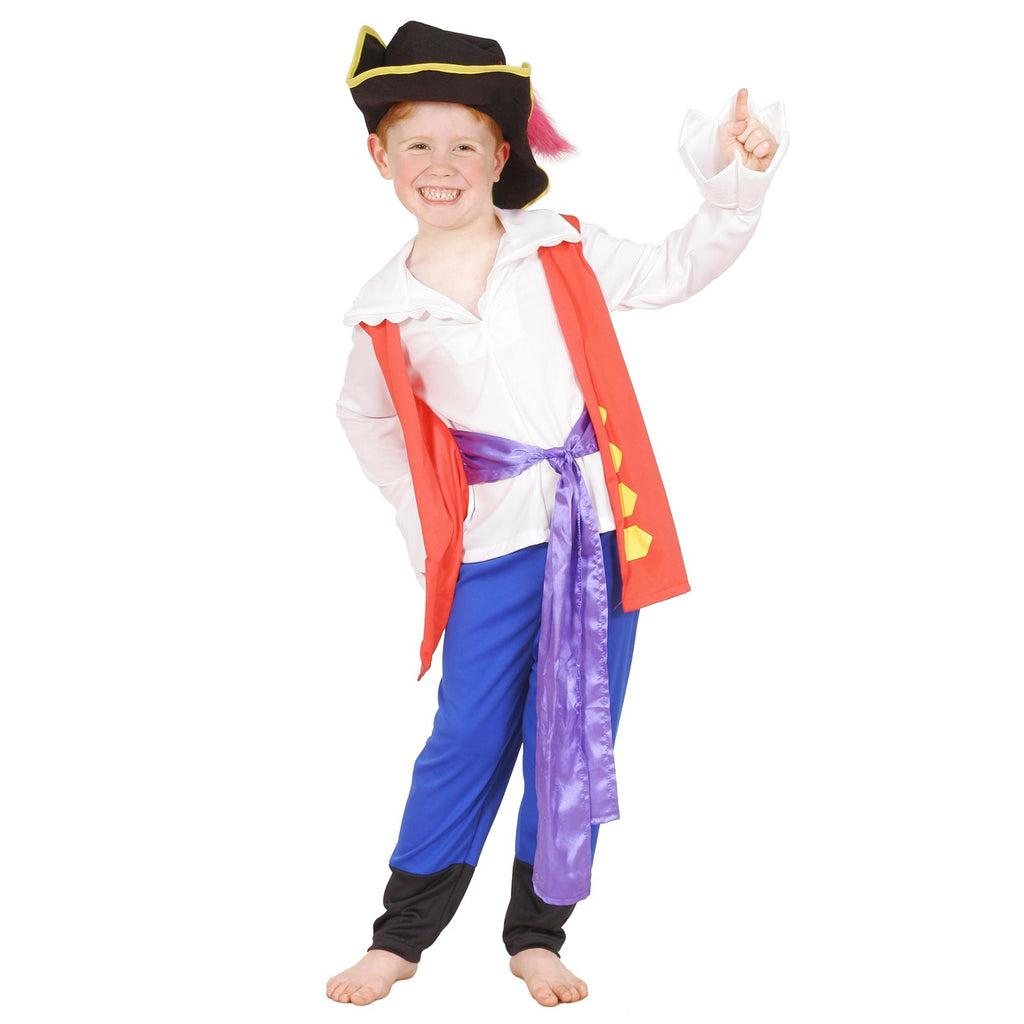 Captain Feathersword Costume, Child