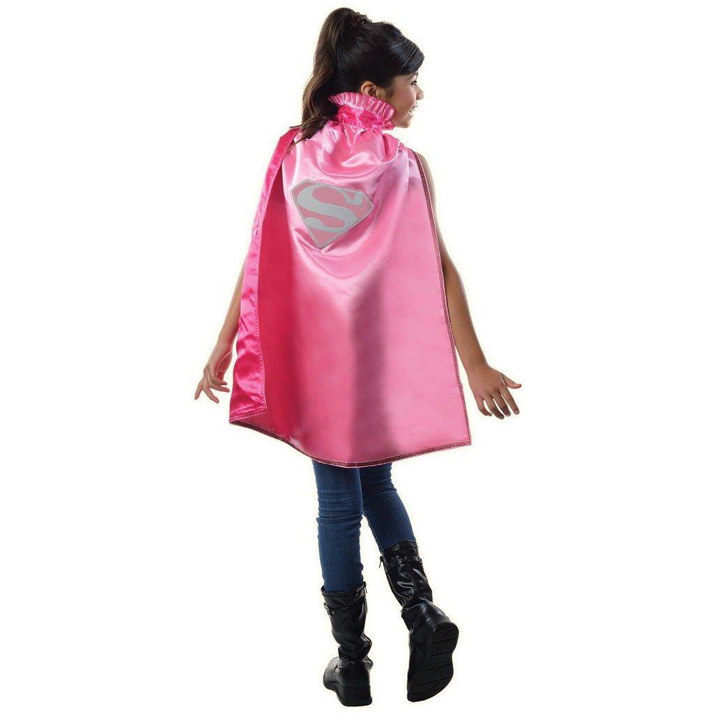 Supergirl Dc Pink Cape, Child