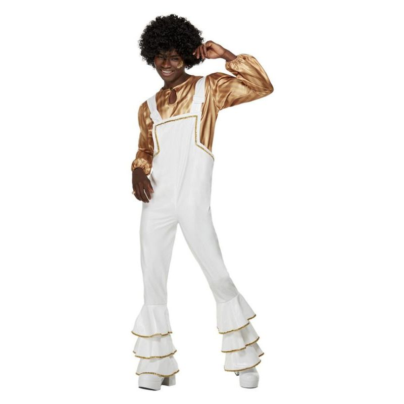 70s Glam Costume, White
