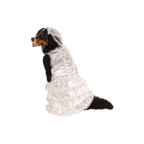 Bride Big Dog Costume, Pet