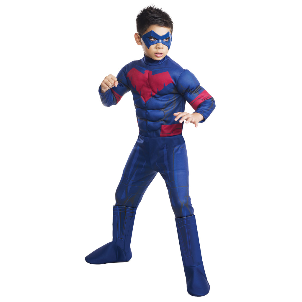 Nightwing Deluxe Costume, Child