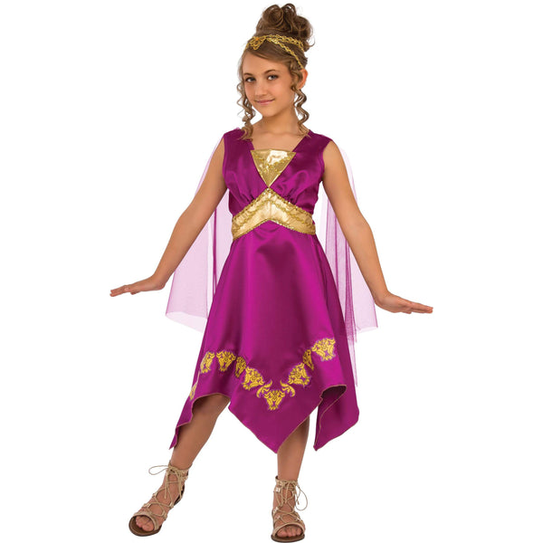 Grecian Goddess Costume Child