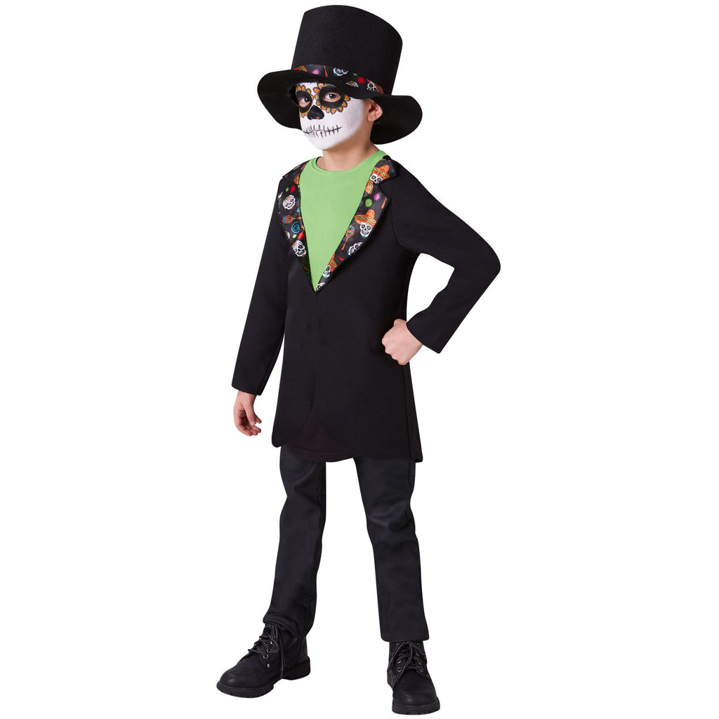 Day Of The Dead Boys Costume, Child