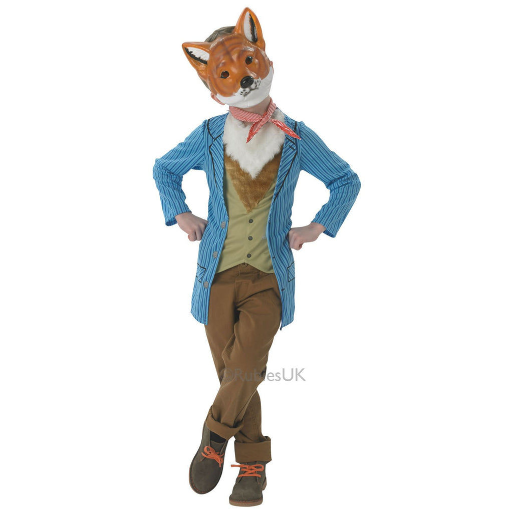 Mr Fox Deluxe Costume, Tween