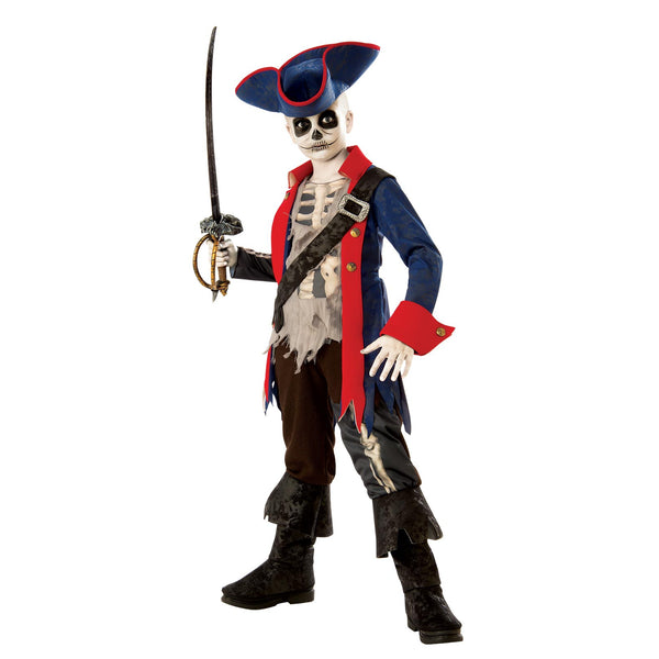 Captain Bones Pirate Costume Child