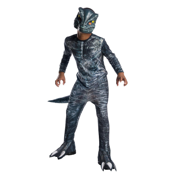 Velociraptor Blue Costume Child