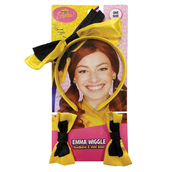 Emma Wiggle Headband & Shoe Bows Child