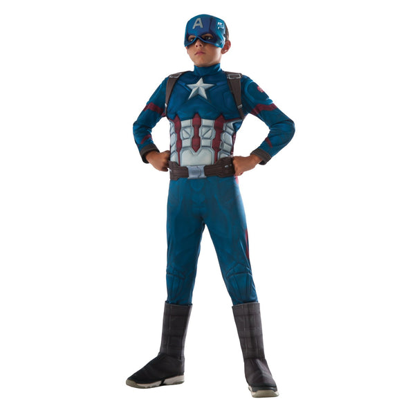 Captain America Deluxe Infinity War Costume Child
