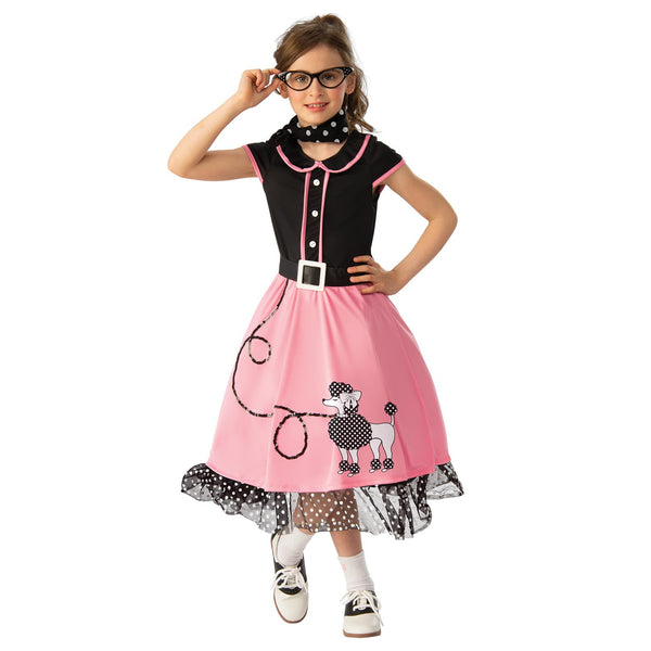 50's Bopper Girl Costume Child