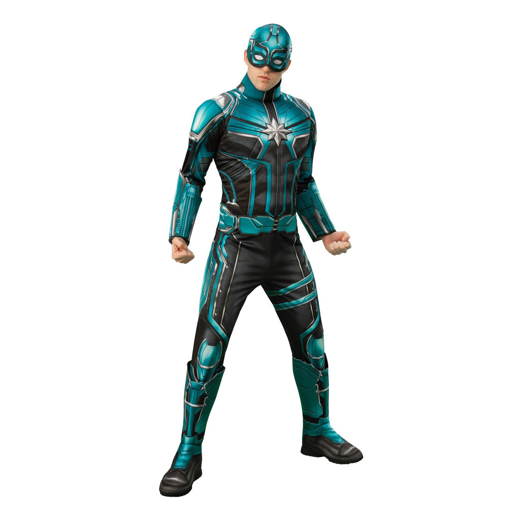 Yon Rogg Deluxe Captain Marvel Costume, Adult