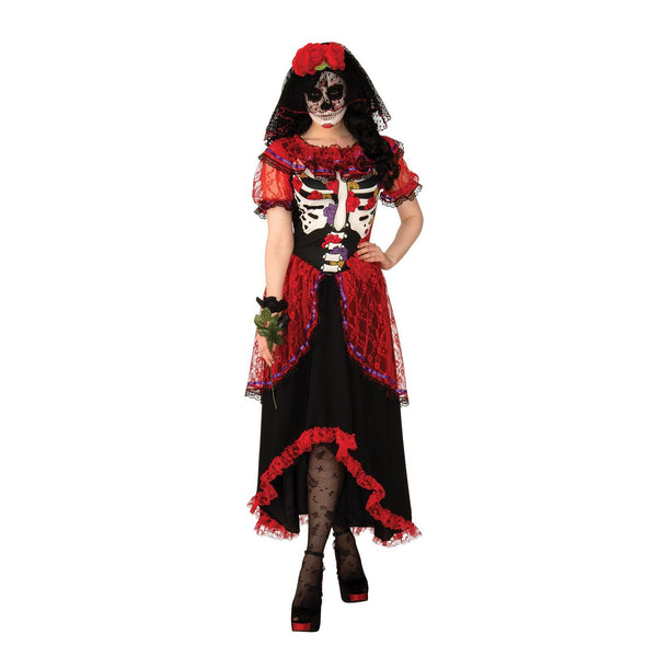 Day Of The Dead Womens Costume Adult