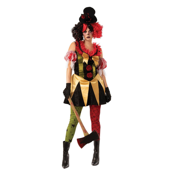 Evil Clown Lady Adult