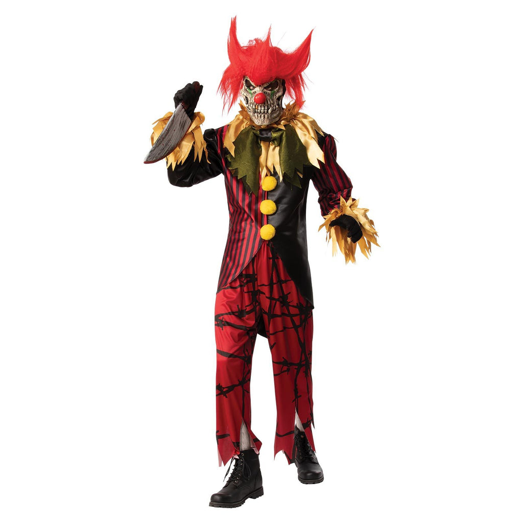 Crazy Clown Costume, Adult