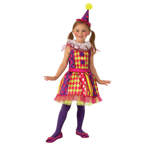 Bright Clown Costume Child