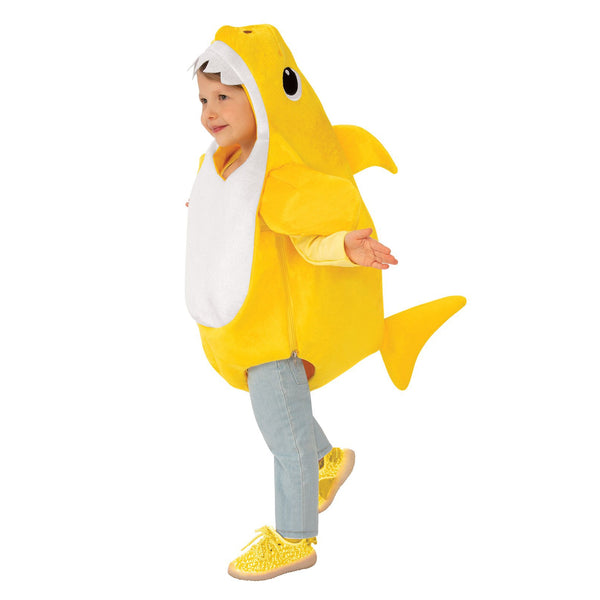 Baby Shark Deluxe Yellow Costume Child