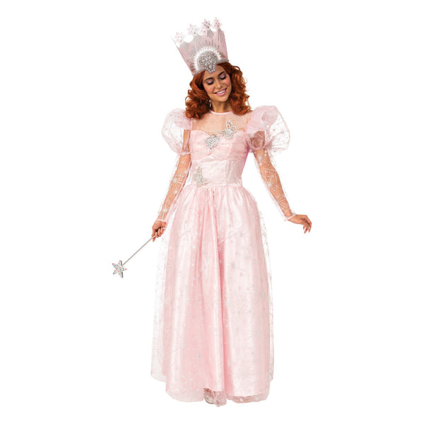 Glinda Deluxe Costume With Light Up Crown