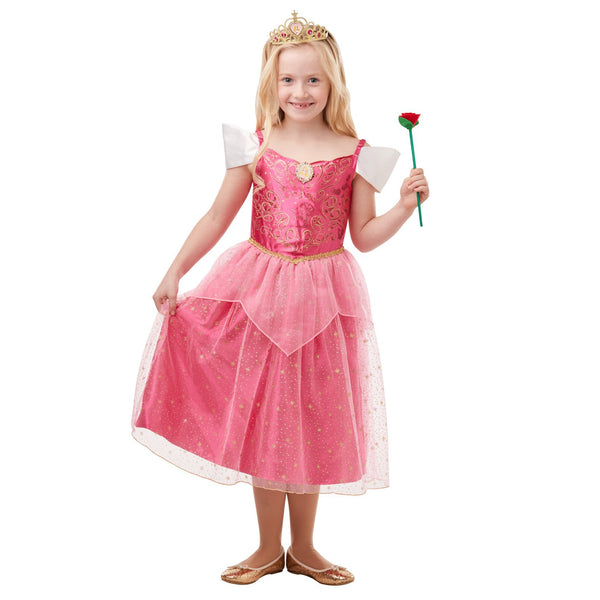 Sleeping Beauty Glitter & Sparkle Costume Child