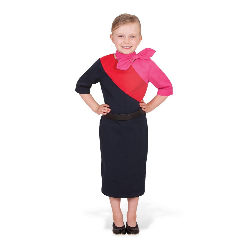 Qantas Female Cabin Crew Uniform, Child