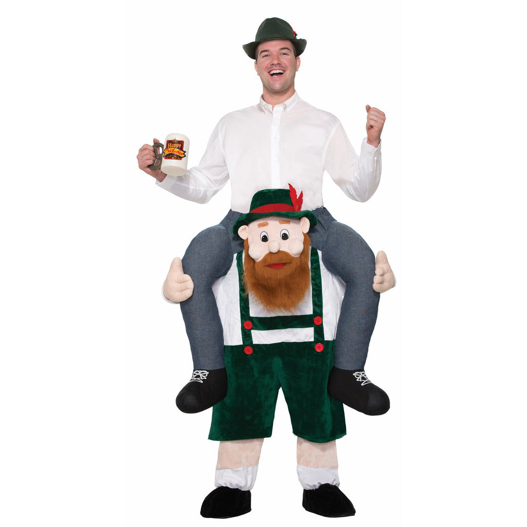 Beer Buddy Piggy Back Costume, Adult