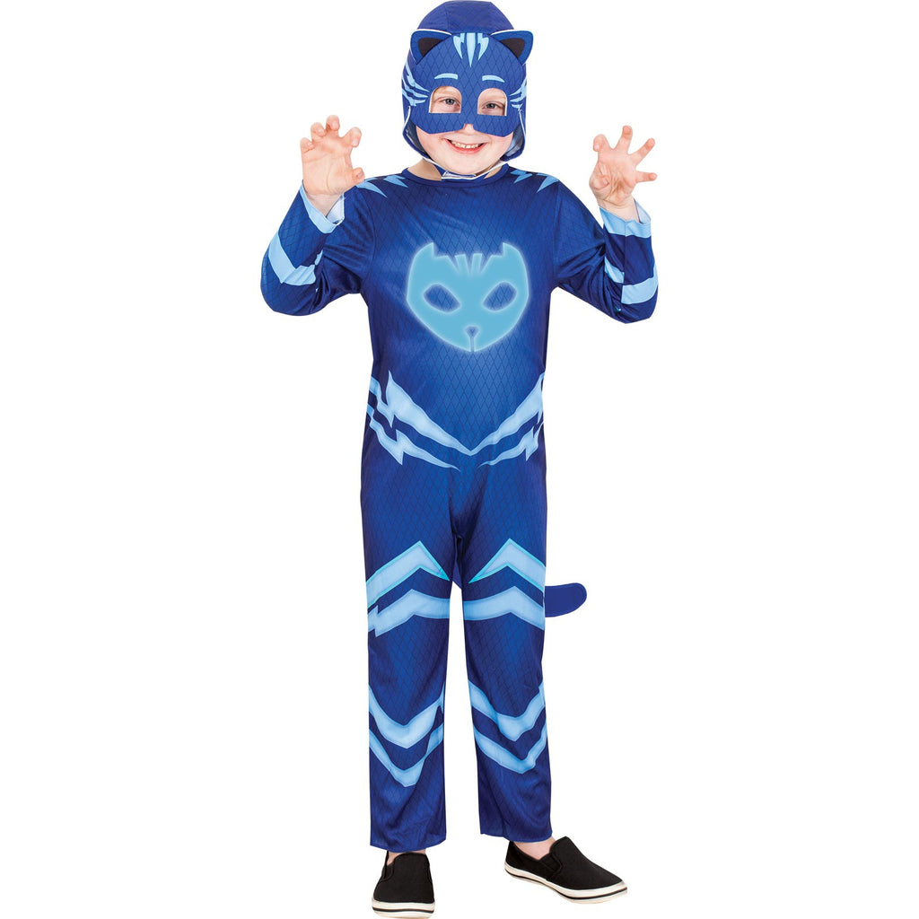 Catboy Glow In The Dark Costume, Child